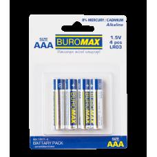 Набір ел. живлення (батарейка) LR03 (ААА) 4шт/упак