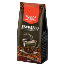 "/Кава в зернах Piazza del Caffe ""Espresso"", середнього обсмаження, 1 кг"