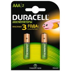 "/Акумулятор AAA ""Duracell"" 750 mAh 2шт/упак"