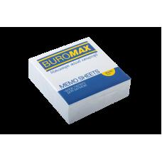 /Блок білого паперу для нотаток JOBMAX 90х90х30мм., скл.