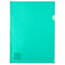 Папка-куточок А4, зелена