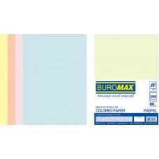 /Набір кольорового паперу PASTEL, А4, 80г/м2 (5х50/250арк.)