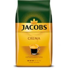 /Кава в зернах Jacobs Crema, 1000г , пакет