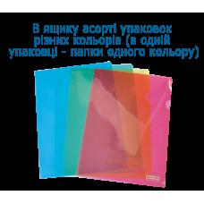 /Папка-кутик А4, JOBMAX, асорті