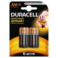 /Елемент живлення (батарейка) DURACELL LR3 (АAA), 6шт/упак