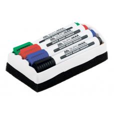 Комплект з 4 маркерів (BM.8800) і губки для магнітних дошок