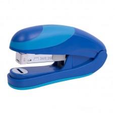 Степлер Ocean Flat Clinch, пласт., №24/6, 25 арк., синій