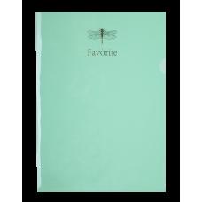 Папка-кутик А4, PASTEL м'ятний