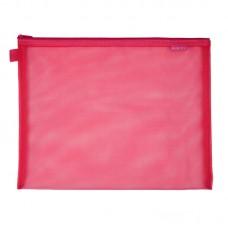 Папка В5+ на блискавці 1491-А, рожева