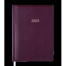 /Щоденник дат. 2021 BASE(Miradur), A5, 336 стор., бордовий