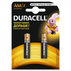 /Елемент живлення (батарейка) DURACELL LR3 (AAA) 2шт/упак