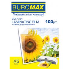 Плівка для ламінування 100мкм, A5 (154х216мм), 100 шт.