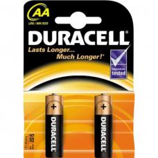 /Елемент живлення (батарейка) DURACELL LR6 (AA) 2шт/упак