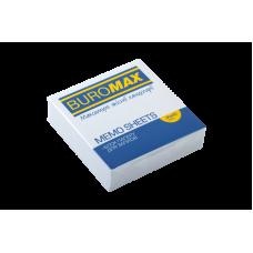 /Блок білого паперу для нотаток JOBMAX 80х80х20мм., не скл.
