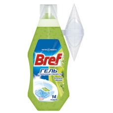 Гель д/туалета BREF 360мл Зелене Яблуко з корзинкою