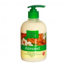 /Крем-мило рідке FRESH JUICE 460 мл зі зволожуючим мигдальним молочком Almond