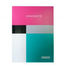 /Блокнот CHIAZZATO, А-5, 80л., кл., инт. обкл., мат. лам., рожевий